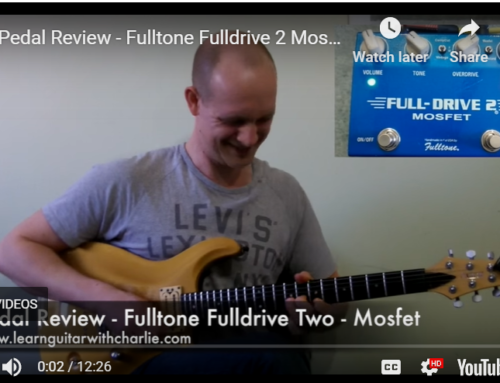 Gear Review – Fulltone Fulldrive 2