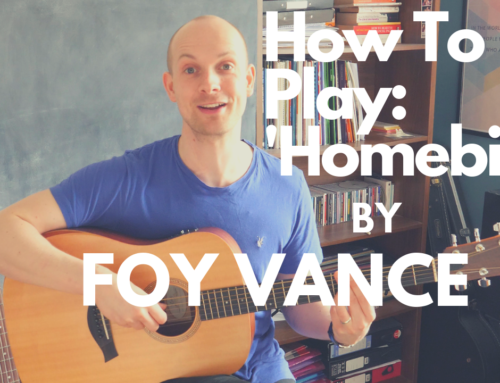 'Homebird' Foy Vance – Guitar Lesson