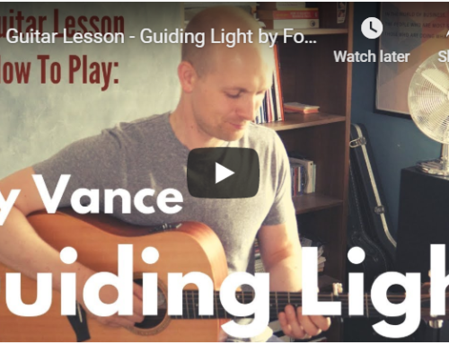 'Guiding Light' Foy Vance – Guitar Lesson