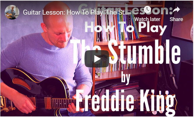 the stumble guitar lesson